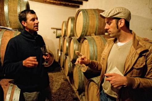 Vincent Gaudry, ses vins, et Emmanuel Delmas