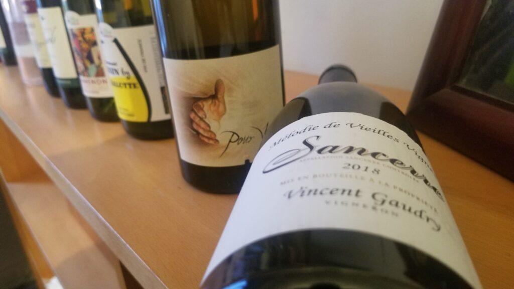 Un vin de Vincent Gaudry, Sancerre